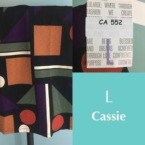 LuLaRoe Cassie skirt - large